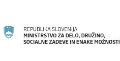 Logotip Ministrstva za delo, družino, socialne zadeve in enake možnosti