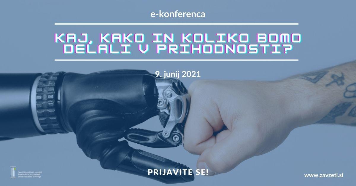 Roka človeka in robota
